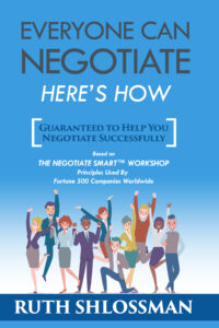 Everyone Can Negotiate by Ruth Shlossman - front cover